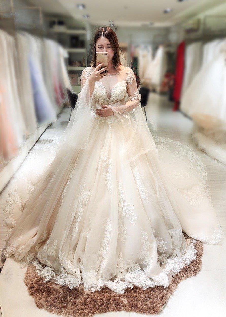 嘉義紐約紐約婚紗 攝影-試穿心得4