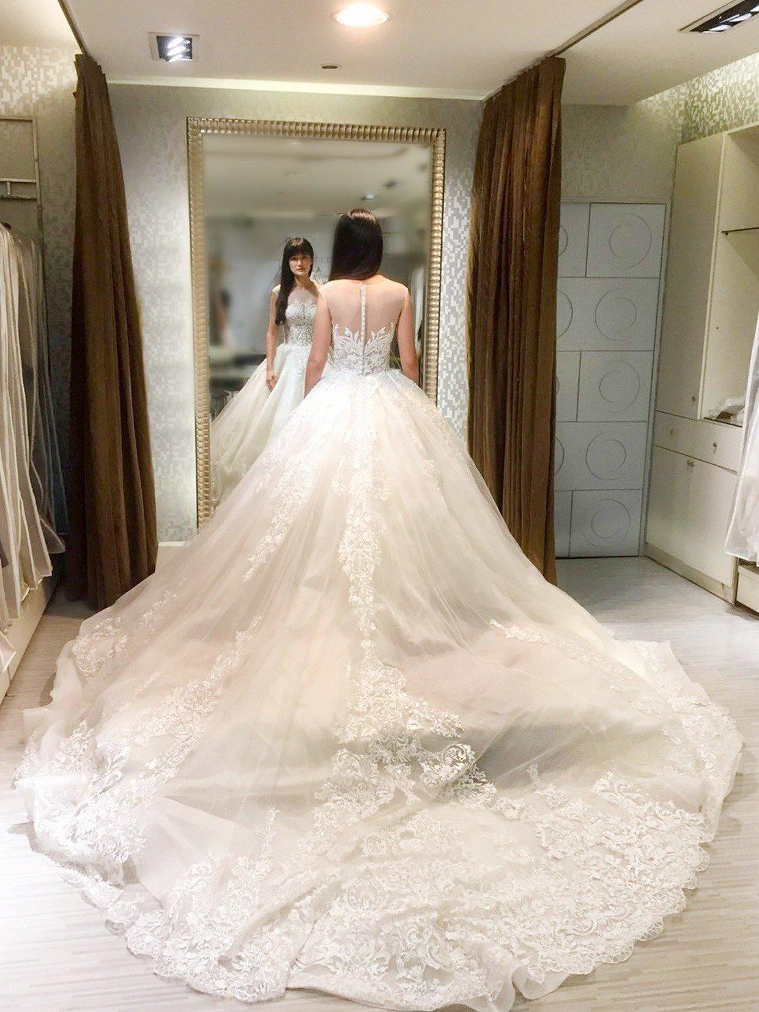 嘉義紐約紐約婚紗試穿心得1