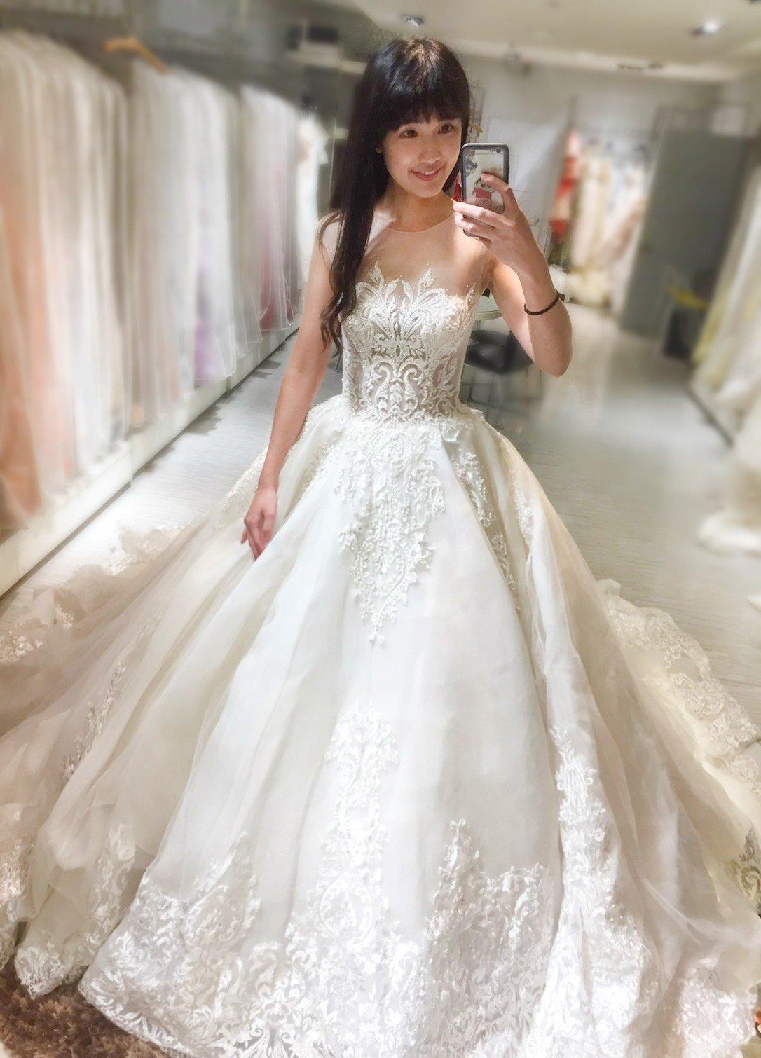 嘉義紐約紐約婚紗試穿心得8